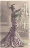 MAC LEDO. PORTRAIT D'UNE FEMME CÉLÉBRITÉ. WALERY PARIS. CARTE POSTALE CIRCULEE ANNEE 1905.- LILHU - Non Classificati
