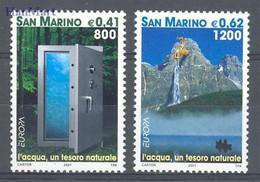 San Marino 2001 Mi 1950-1951 MNH  (ZE2 SMR1950-1951) - 2001