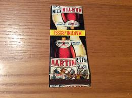 """Pochette D'allumettes ** SEITA """"MARTINI & ROSSI / Nutsy"""" (bouteilles) - Scatole Di Fiammiferi"""