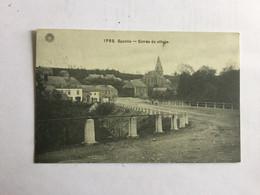 SPONTIN 1912  ENTREE DU VILLAGE - Yvoir
