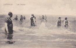 AK Ostende - Les Bains - Feldpost 1915 (57055) - Oostende