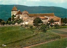 71 - Berzé La Ville - Château Des Moines Et La Chapelle - Au Fond, Le Bois Des Pierres - Carte Neuve - CPM - Voir Scans - Autres Communes