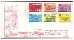 Antillen / Antilles 1984 FDC Se 166 Goverments Buildings On The Islands - Curacao, Netherlands Antilles, Aruba