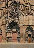 89 - Auxerre - La Cathédrale Saint Etienne - Détail Du Portail - CPM - Voir Scans Recto-Verso - Auxerre