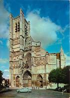 89 - Auxerre - La Cathédrale Saint Etienne - Automobiles - Flamme Postale De Auxerre - CPM - Voir Scans Recto-Verso - Auxerre