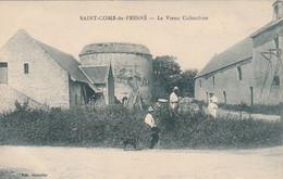Cpa Saint Come De Fresné Le Vieux Colombier - Autres Communes