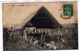 62-ARRAS- LA CITADELLE- LE  LAVOIR DU  ST GENY  -ANIMEE - Arras
