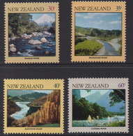 NEW ZEALAND 1981 RIVERS  SET MNH - Unused Stamps