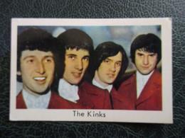 TRADE CARD - THE KINKS  D-0244 - Ohne Zuordnung