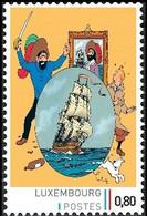 Timbre Privé** - Kuifje / Tintin - Milou / Bobbie - Haddock - Le Secret De Le Licorne / Het Geheim Van De Eenhoorn - Andere