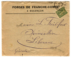 49265 - FORGES DE  FRANCHE COMTE - 1877-1920: Semi-moderne Periode