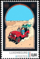 Timbre Privé** - Kuifje / Tintin - Milou / Bobbie - Haddock - Au Pays De L'or Noir  / En Het Zwarte Goud - Andere