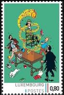 Timbre Privé** - Kuifje / Tintin - Milou / Bobbie - Haddock - Les 7 Boules De Cristal / De 7 Kristallen Bollen - Film