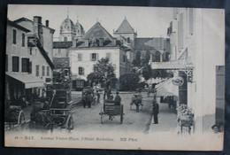 CPA Landes - Dax (40100) – 44. Avenue Victor Hugo L'Hôtel Richelieu – ND. Phot. – Animée – Non écrite. - Dax