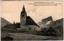61ld 1534 CPA - CLELLES ET LE MONT AIGUILLE - CURIEUSE EGLISE - Clelles