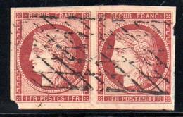 YT N° 6a  - Paire - Cote 2350,00 € - Lire Descriptif - 1849-1850 Cérès