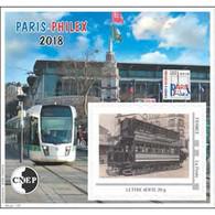CNEP N° 78a NON DENTELE PARIS-PHILEX 2018, TTB - CNEP