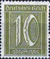 1910 Mi.Nr.178 Deutsches Reich (1921) Ziffer Ungebraucht - Nuevos