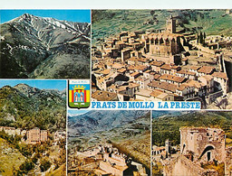 66 - Prats De Mollo - La Preste - Multivues - Blasons - CPM - Voir Scans Recto-Verso - Sonstige Gemeinden