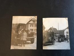 Photo (~1920) Automobile à ROUFFACH (?) - Plaatsen