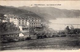 7789 Cpa Philippeville - Les Casernes Et La Rade - Altre Città