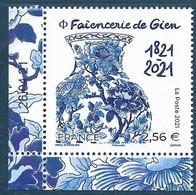 Faïencerie De Gien 1821-2021 Coin Daté (2021) Neuf** - Neufs