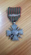 1 Médaille Croix De Guerre 1939 Avec Palme - Zonder Classificatie