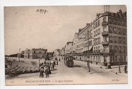 - CPA BOULOGNE-SUR-MER (62) - Le Quai Gambetta (belle Animation Avec Tramway) - Photo Neurdein 130 - - Boulogne Sur Mer