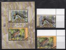 Bulgaria  2019. Europa - CEPT. Fauna. Birds. MNH - Ungebraucht