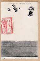 X69205 Rare LYON Avec Vignette GRANDE SEMAINE D'AVIATION 7-15 Mai 1910 - PAULHAN à 80 Mètres De Hauteur LE DELEY - Altri