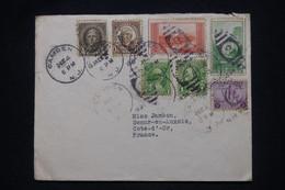 ETATS UNIS - Enveloppe D'Hôtel ( Voir Au Dos ) De Camden Pour La France En 1934 - L 101188 - Covers & Documents