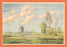 A687 / 041 Paysage Moulin à Vent GERHARDS - Ohne Zuordnung