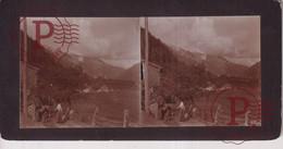 Austria Arlberg Pass  TIROL TYROL  +-17*9CM ESTEREOSCOPICA STEREOSCOPIC Francestereo - Places