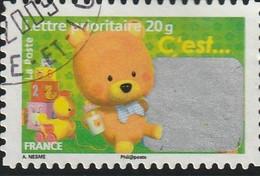 """France Autoadhésif Oblitéré  2008  N° 164  Timbre Pour Naissance """"C'est Un Garçon"""" - Adhesive Stamps"""