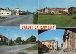 Saluti Da CAVAGLIA' - MULTIVEDUTE - (rif. P49) - Biella