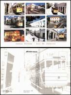 Postcard Santa Teresa-Rio De Janeiro Mehrbild Straßenbahn, Tram 2008 - Rio De Janeiro