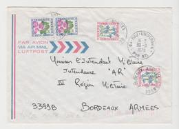LSC De PAU UNIVERSITE TAXEE à Son ARRIVEE à BORDEAUX ARMEES De 1979 TB - Postage Due Covers