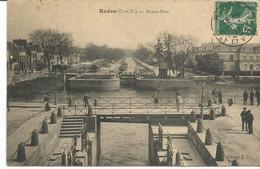 REDON. Avant Port. Les écluses. Canal De Nantes à Brest. écluse. - Redon