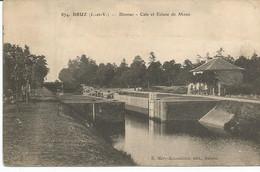 BRUZ. Blossac. Cale Et écluse De Mons. - Other Municipalities