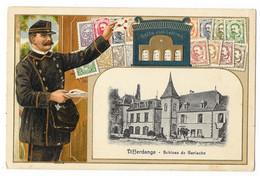 Cpa. LUXEMBOURG - DIFFERDANGE - Schloss De Gerlache (Facteur, Timbres, Boite Aux Lettres) N° 12698 Ed. H. Guggenheim - Differdange