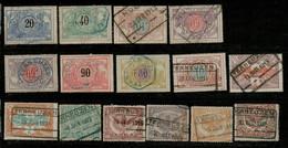BR-8002  LIJN MECHELEN -TERNEUZEN   (7 SCANS) - 1895-1913