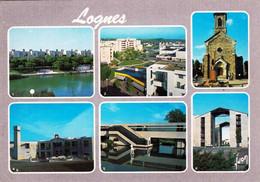 77 - Seine Et Marne - LOGNES - Le Lac - Centre Commercial - College La Maillere - Gare Du RER - Andere Gemeenten