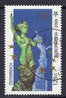 Austria / Osterreich 2006 - 50 Th Anniversary Years Of Europa CEPT, Sculpture, Statue, Skulptur - Used - 2001-10 Usados