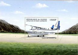Guinée Guinea 2001 Hydravions Seaplanes Cessna Caravan - Airplanes