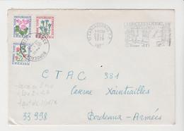 TARIF Du 02/08/76 P.N.U. / LSC De CARCASSONNE De 1978 Taxée à Son Arrivée à  Bordeaux-Armées - Postage Due Covers