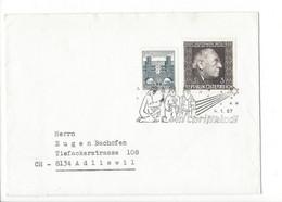 27400 - Christkindl 1967 Cover Lettre Adliswil 04.01.1967 - Christmas