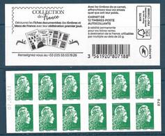 C - Marianne L'Engagée LV Collection De France Daté 070 (2021) Neuf** - Usage Courant