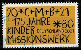 Bund 2021,Michel# 3582 O  175 Jahre Kinderhilfswerk - Gebruikt