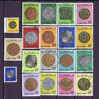 Marokko, Maroc #3: Münzen, Coins, 19 Diff. Gestempelt, Used - Maroc (1956-...)