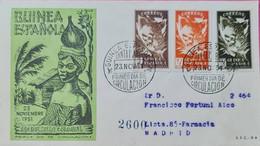 Carta. Guinea. - Spanish Guinea